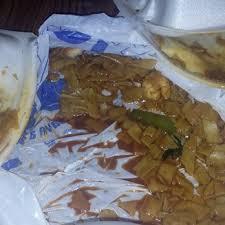 spilled food