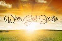 God Speaks Oct 2015